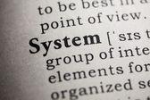 System — Stock Photo