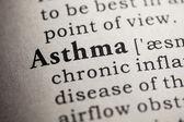 Asthma — Stock Photo