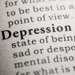 Stock Photo: Depression
