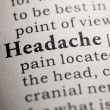 Headache — Stock Photo #41591383