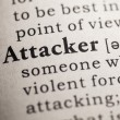 Attacker — Stock Photo #41591477