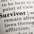 Survivor — Stock Photo #41591553