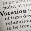 Stock Photo: Vacation
