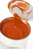 Can Tomato Sauce — Stock Photo