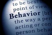 Behavior — Stock Photo