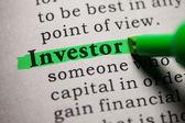 Investor — Stock Photo