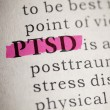 Stock Photo: Post Traumatic Stress Disorder