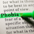 Stock Photo: Phobia