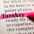 Stock Photo: Turnkey