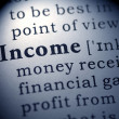 Stock Photo: Income