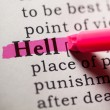 Stock Photo: Hell