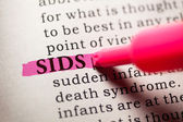 SIDS — Stock Photo