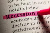 Recession — Stock Photo
