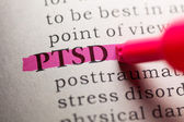 Post traumatic stress disorder — Stock Photo
