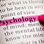 Psychology — Stock Photo