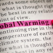 Global Warming — Stock Photo