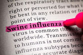 Swine influenza — Stock Photo