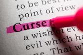 Curse — Stock Photo