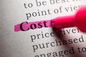 Koszt — Zdjęcie stockowe