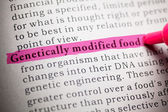 Genetically modified food — Stock Photo