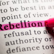 Rebellion — Stock Photo #44635115