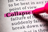 Collapse — Stock Photo
