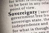 Sovereignty  — Stock Photo