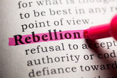 Rebellion — Stockfoto