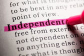 Independent — Stock Photo