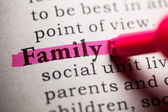 Family — Стоковое фото