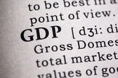 Gross domestic product — Stock Photo
