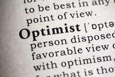 Optimist — Stock Photo