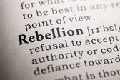 Rebellion — Stock fotografie