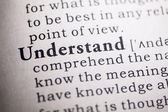 Understand — Stock Photo
