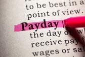 Payday — Stock Photo
