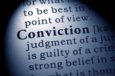Conviction — Stock Photo