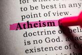 атеизм — Стоковое фото