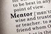 Mentor — Stock Photo