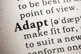 Adapt — Stock Photo