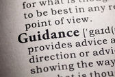 Guidance — Stock Photo