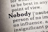 Nobody — Stock Photo