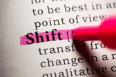Shift — Stock Photo