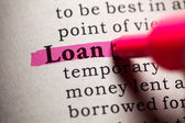 Loan — Stock Photo