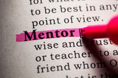 Mentor — Stock Photo