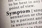 Symptom — Stock Photo