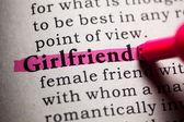 Girlfriend — Stock Photo