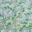 Stock Photo: Polish banknotes background