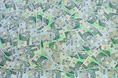 Polish banknotes background — Stock Photo