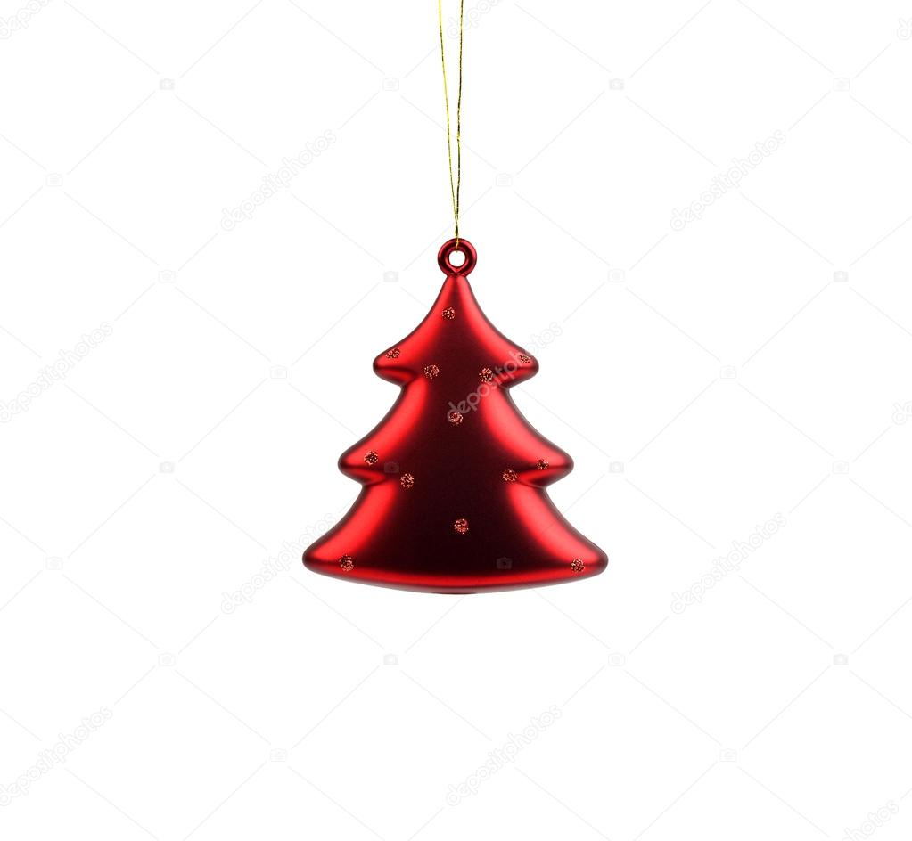 Christmas ornament in the shape of a Christmas tree — Stock Photo #17144423