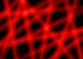 Red light rays — Stock Photo